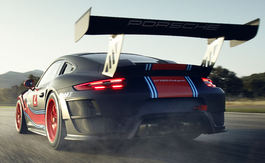 Porsche 911 991 GT2 RS Clubsport rear wing
