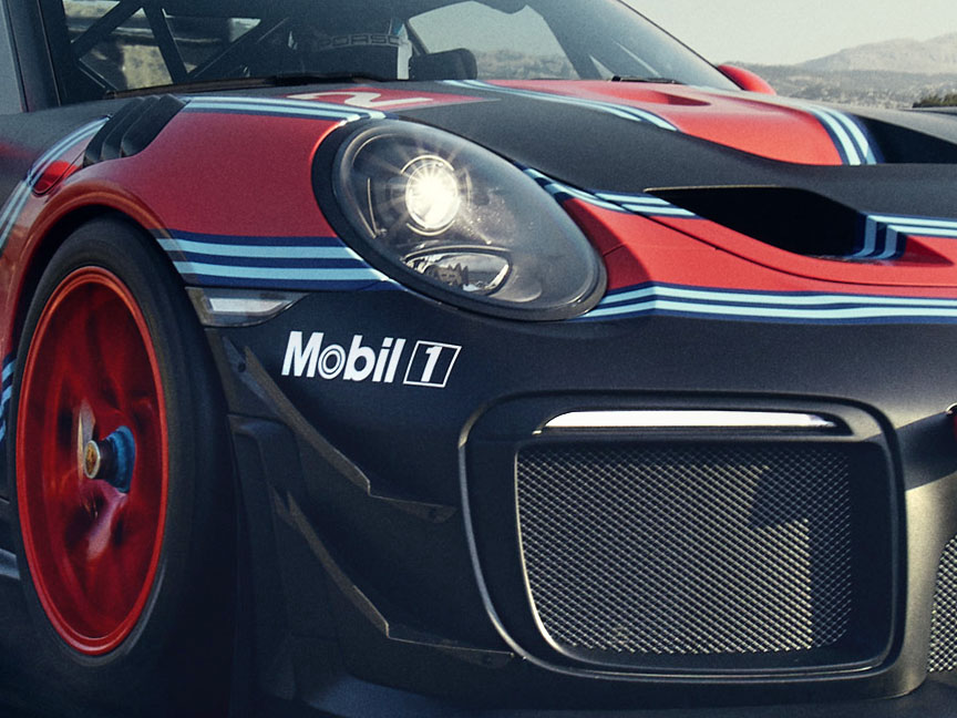 Porsche 911 991 GT2 RS Clubsport front flics