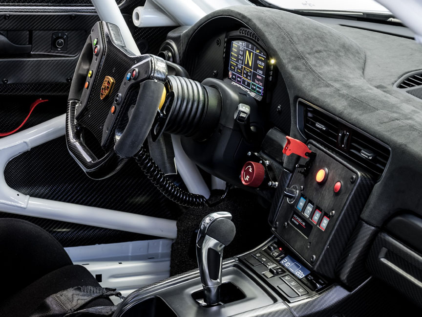 Porsche 911 991 GT2 RS Clubsport dashboard