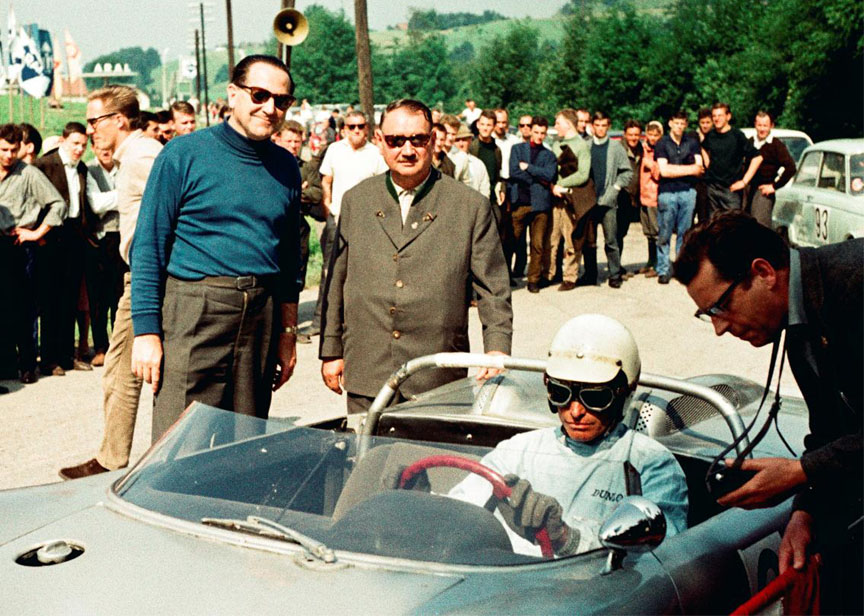 1964 Gaisberg, Edgar Barth, Porsche 718 W-RS