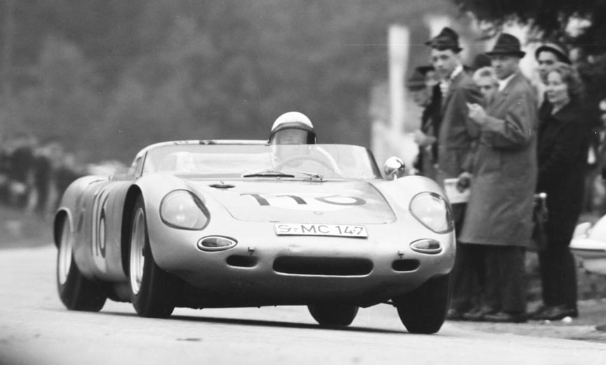1963 Gaisberg, Edgar Barth, Porsche 718 W-RS