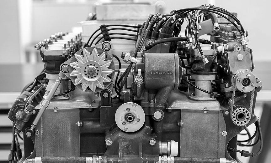 Porsche 917 4.5-litre engine