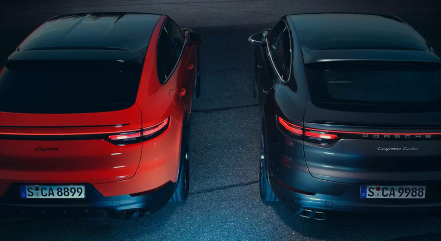 2019/2020 Porsche Cayenne Coupe - carbon roof vs glass roof