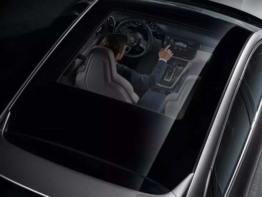 2019/2020 Porsche Cayenne Coupe standard glass roof