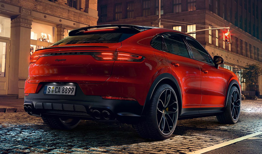 2019/2020 Lava Orange Porsche Cayenne Coupe