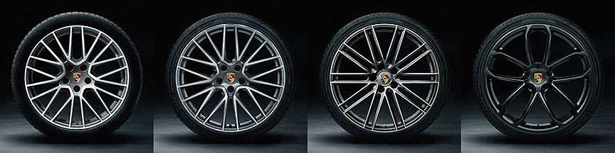 2019/2020 Porsche Cayenne Coupe wheels 21-22