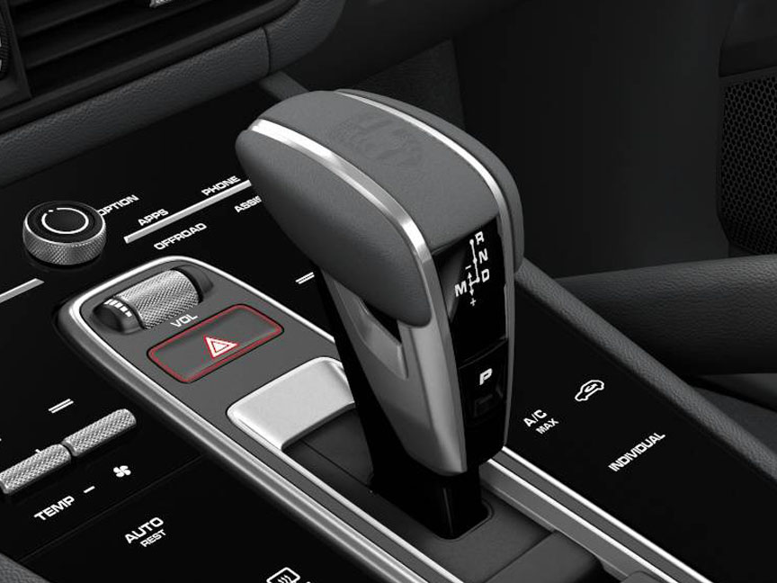 Porsche Cayenne Exclusive shifter