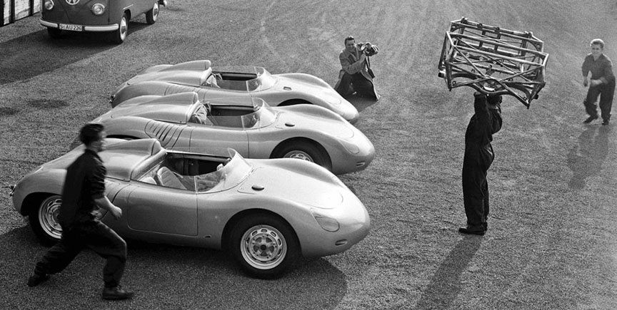 Porsche 718 RSK customer versions