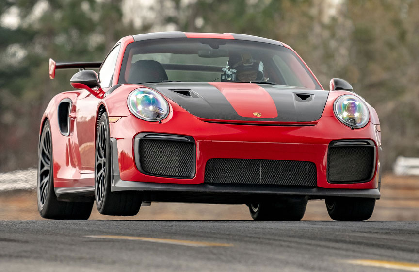 2019 Road Atlanta production car lap record, Porsche 911 991 GT2 RS