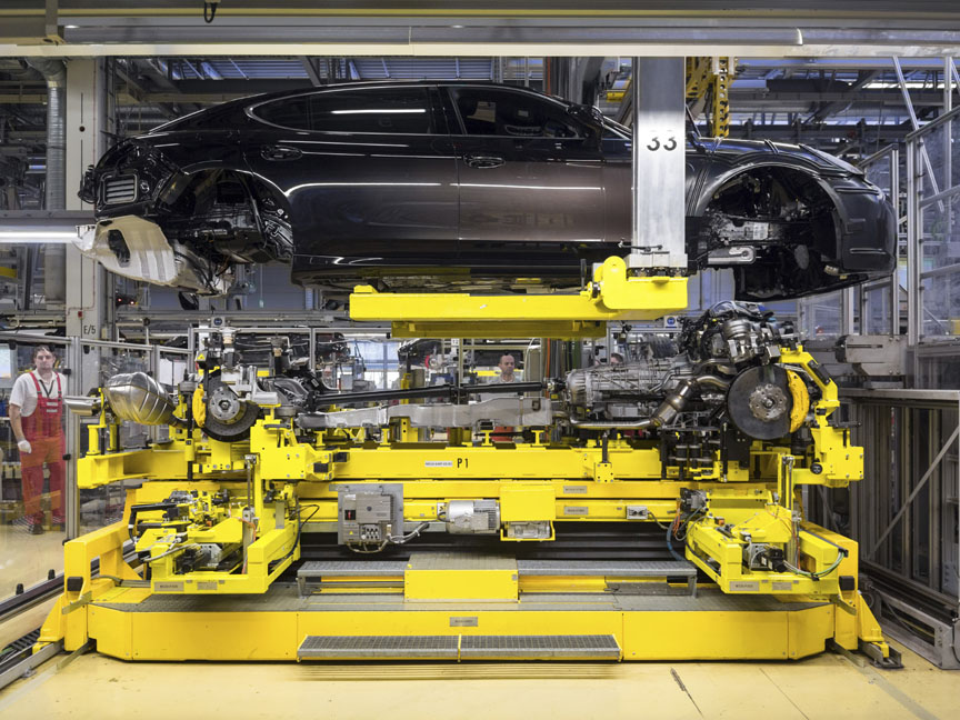 2015 Panamera Turbo S Executive Exclusive Series on production line