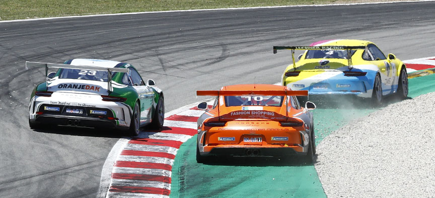 2019 Porsche Mobil 1 Supercup in Barcelona, 911 991 GT3 Cup 4.0
