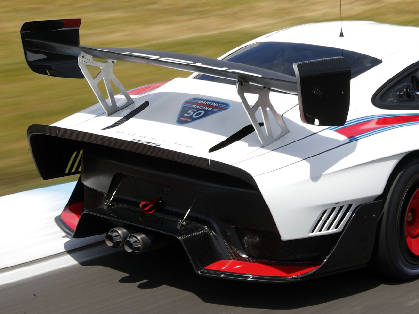 2019 Porsche 935 Tribute rear end, wing