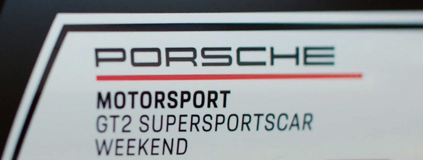 2019 Porsche Motorsport GT2 Supersportscar Weekend logo