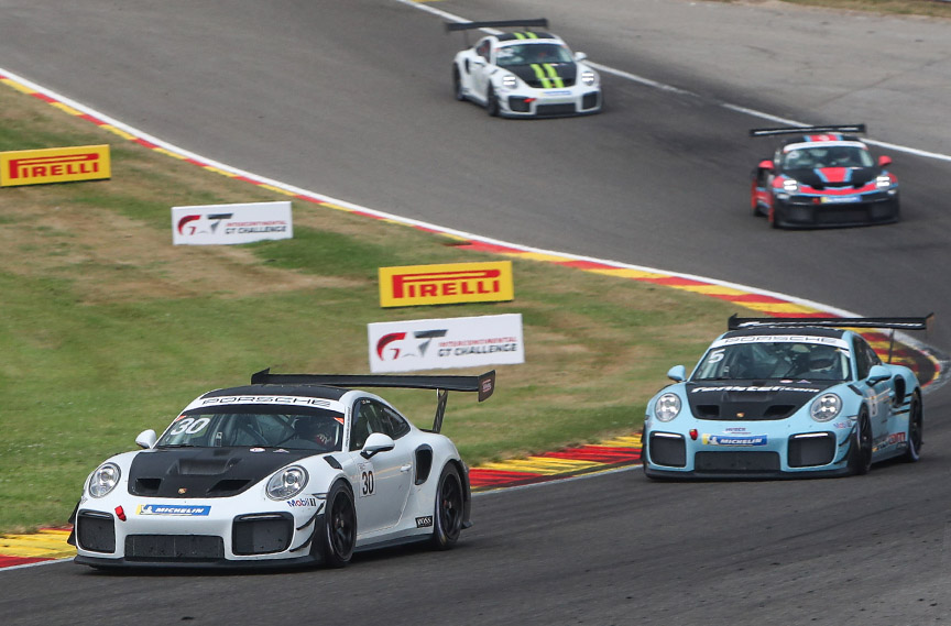 Porsche 911 991 GT2 RS CS at 2019 Porsche Motorsport GT2 Supersportscar Weekend at Spa