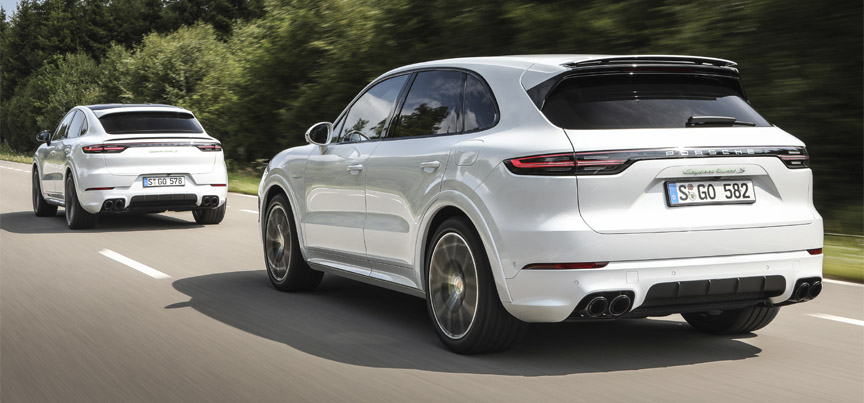 2020 Cayenne Turbo S E-Hybrid Coupé and station wagon