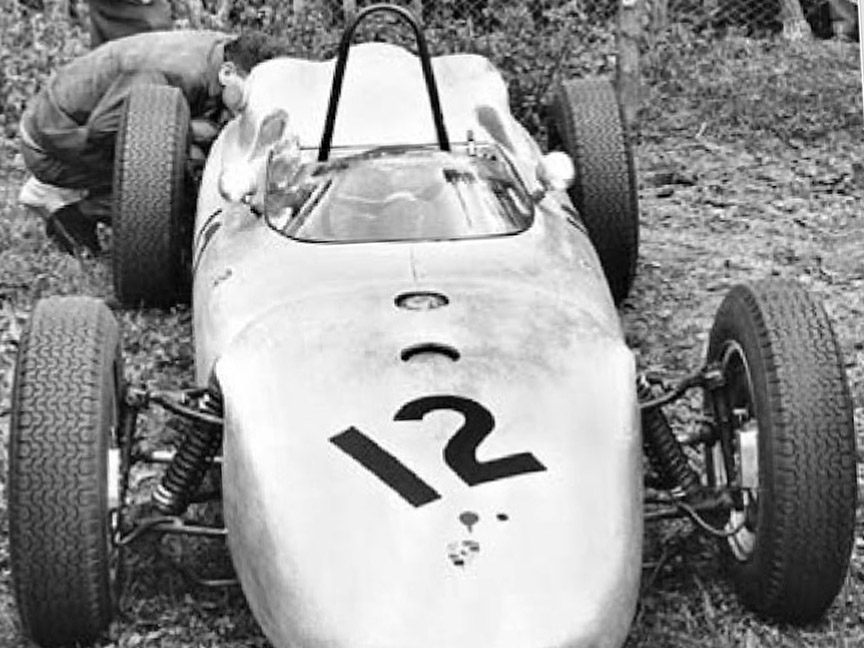 1961 Solitude, Edgar Barth Porsche F1