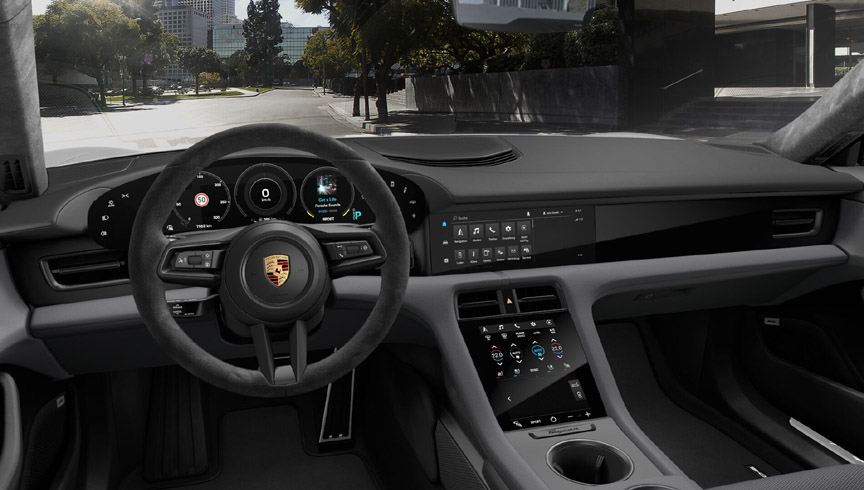 2020 Porsche Taycan animal-free interior
