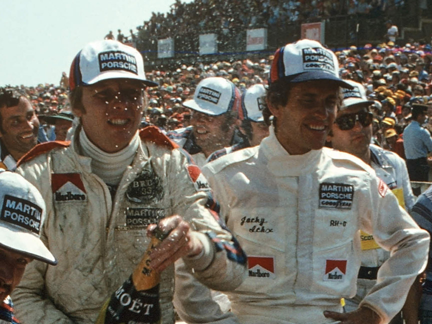 1976 Le Mans winners Lennep-Ickx