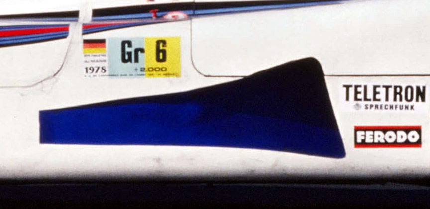 Porsche 936/78 side air inlet