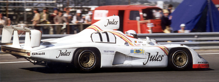 1981 Le Mans, Jules-sponsored Porsche 936/81