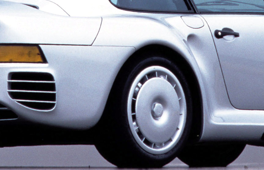 Porsche 959 wheel covers