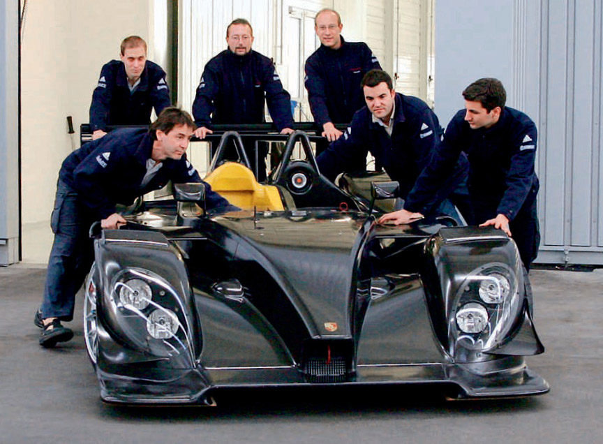 2007 Porsche RS Spyder roll-out