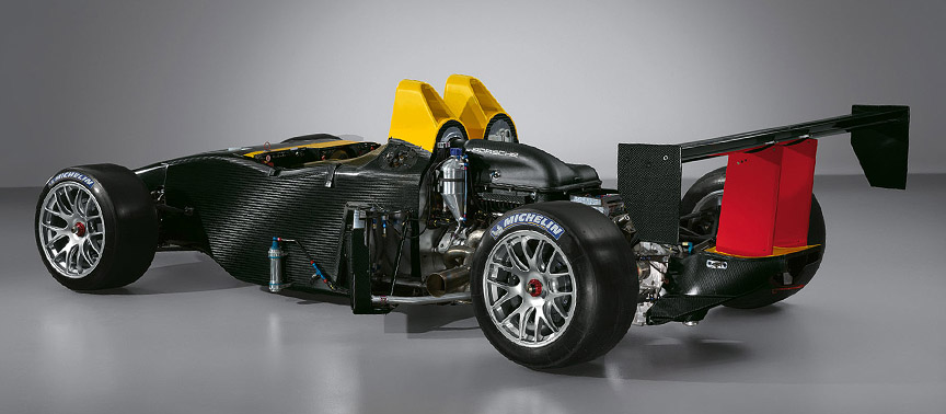 2007 Porsche RS Spyder without body panels