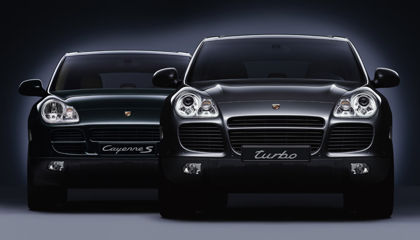 Porsche Cayenne S and Turbo (955 generation)