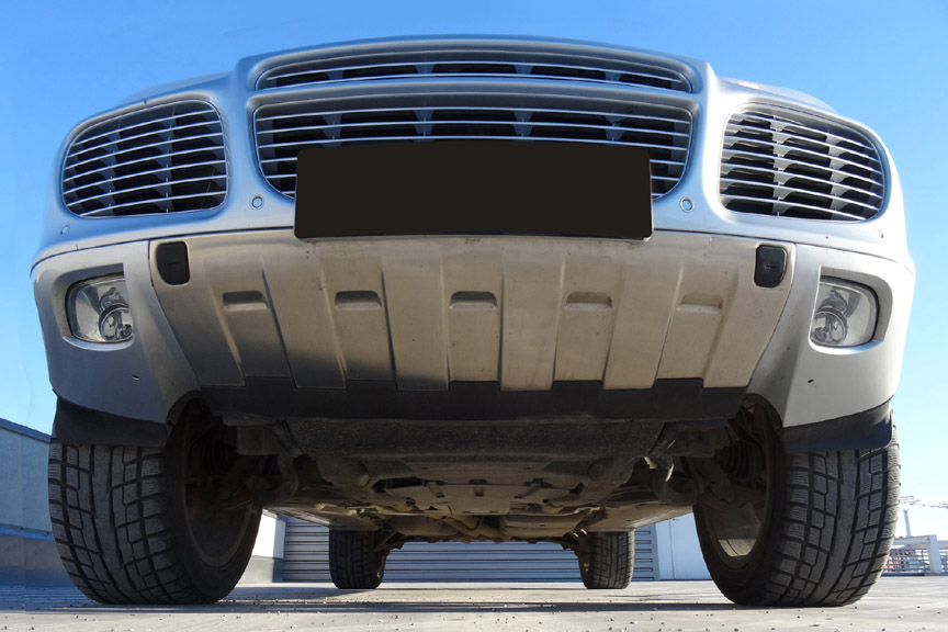 Porsche Cayenne 955 front end protection