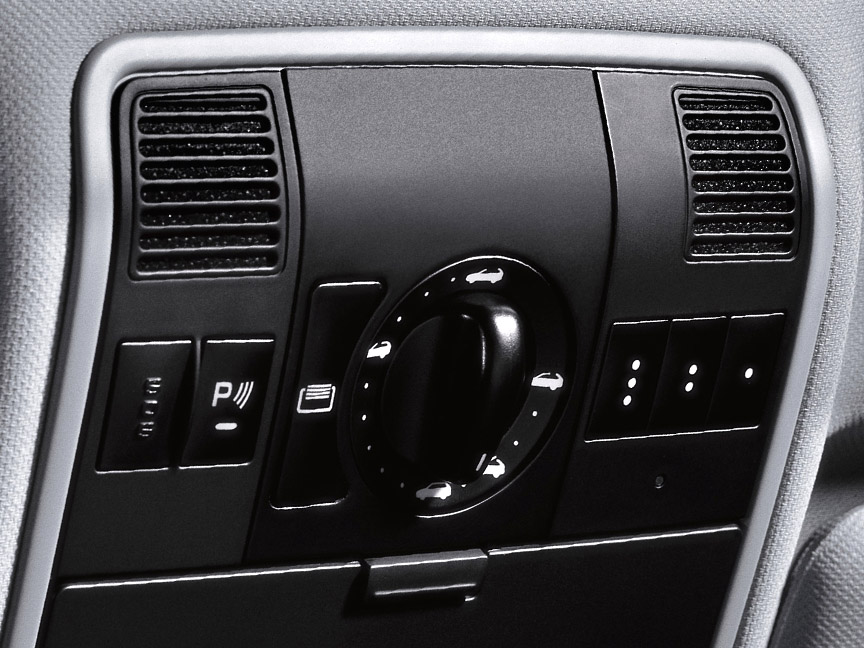 Porsche Cayenne 955 ceiling button panel (car with panorama roof)