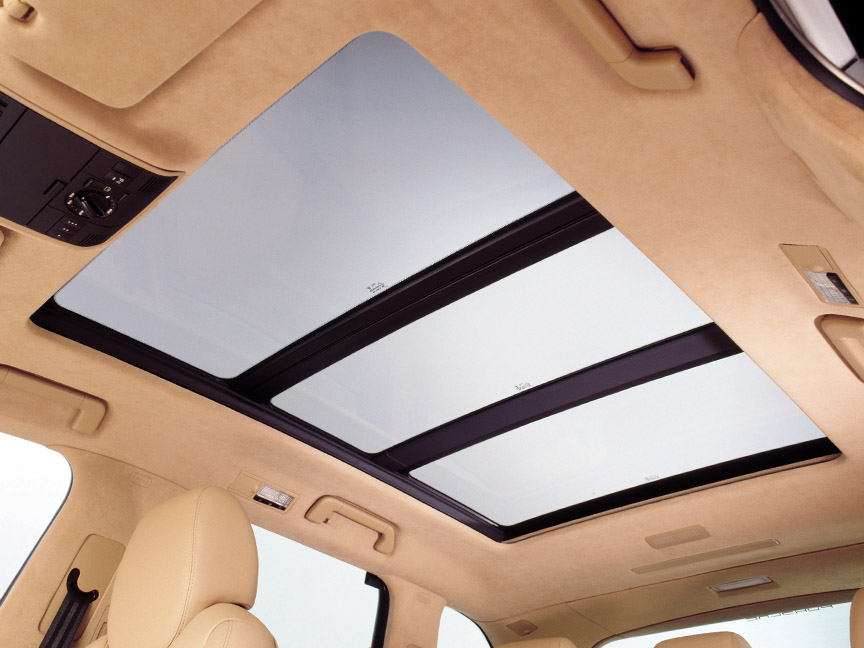 Porsche Cayenne 955/957 panorama roof