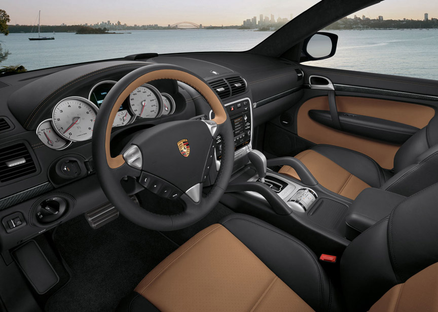Porsche Cayenne 957 Turbo S interior