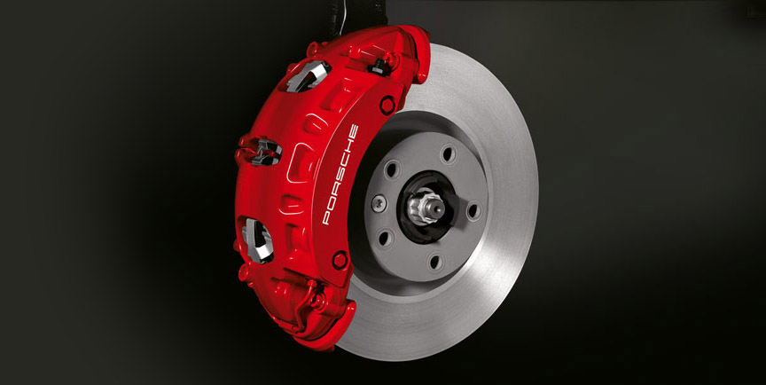 Porsche Cayenne 957 Turbo front brake