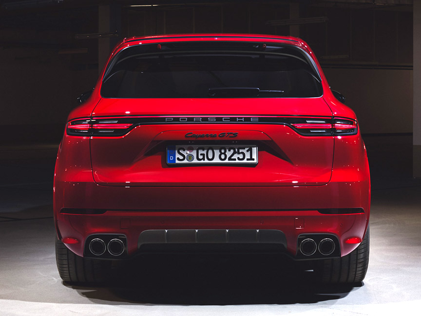 Porsche Cayenne GTS 4.0 rear view