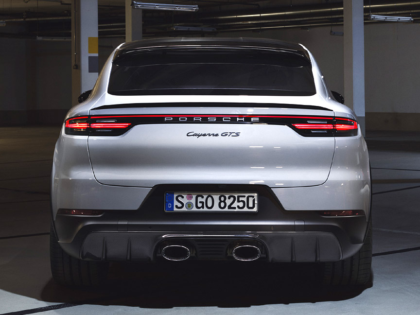 Porsche Cayenne Coupé GTS rear view
