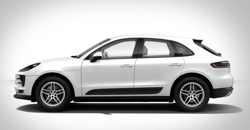 Porsche Macan 95B.2 side view