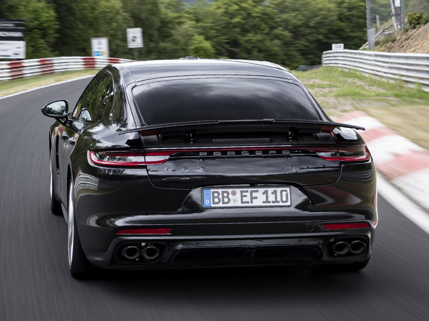 2020 Nürburgring Nordschleife record Porsche Panamera Turbo 971.2 driven by Lars Kern