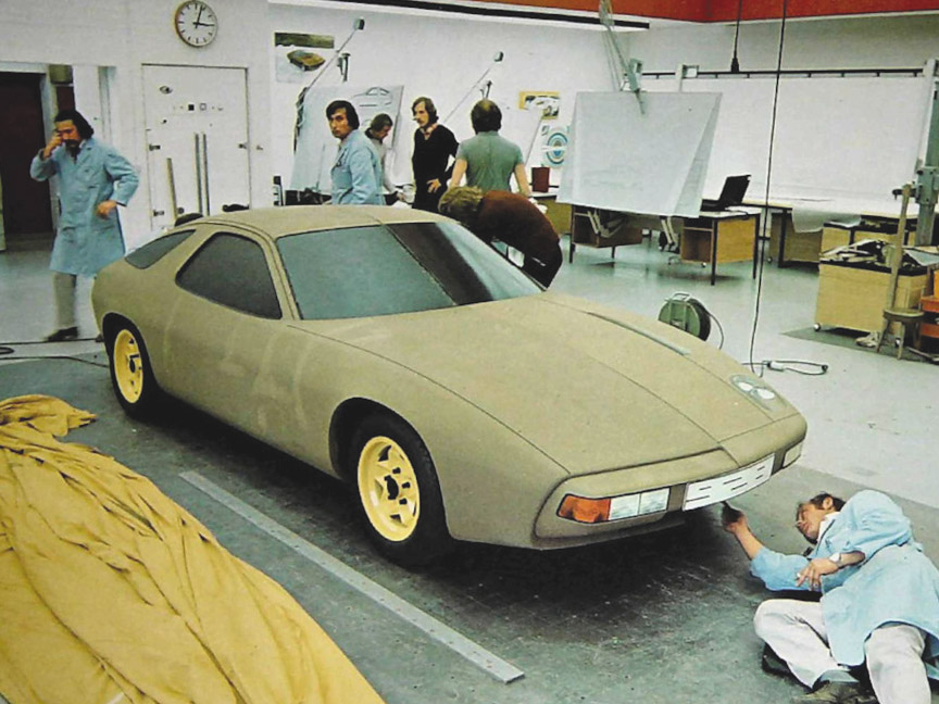 Porsche 928 prototype (clay model)