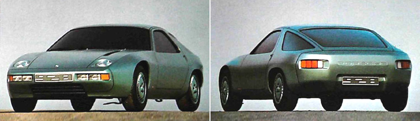 Porsche 928 clay model / mock-up (1973)