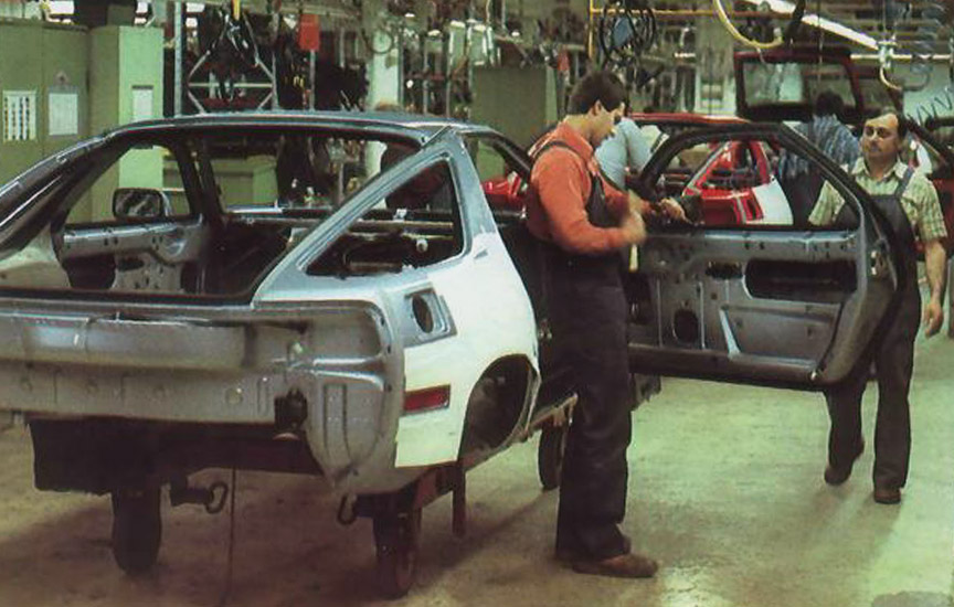 Porsche 928 production
