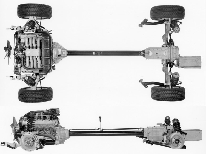 Porsche 928 suspension, engine, transmission