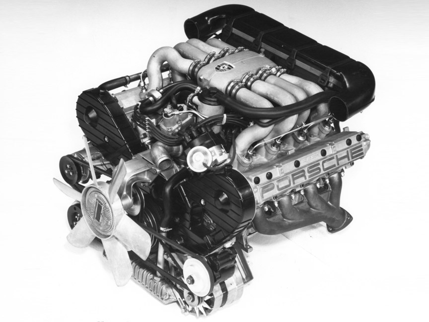 Porsche 928 4.5-litre V8 engine