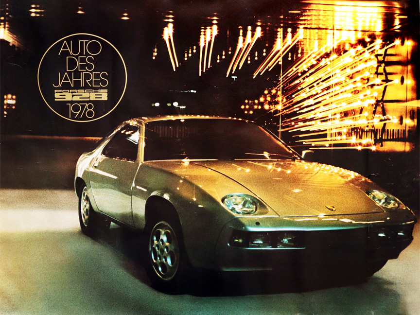 Porsche 928 Auto Des Jahres, Car of the Year