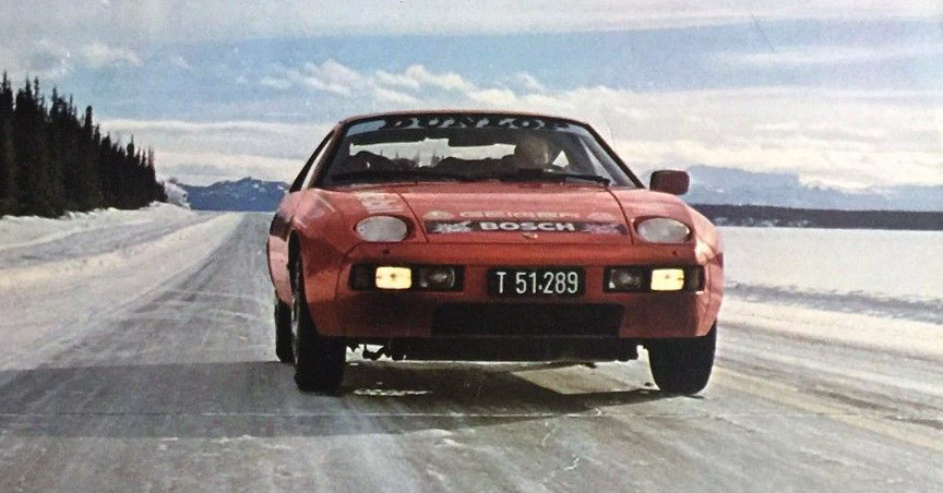 1978 Porsche 928 New York - Moscow - Paris endurance test