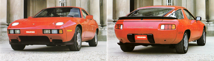 Porsche 928 S, USA version