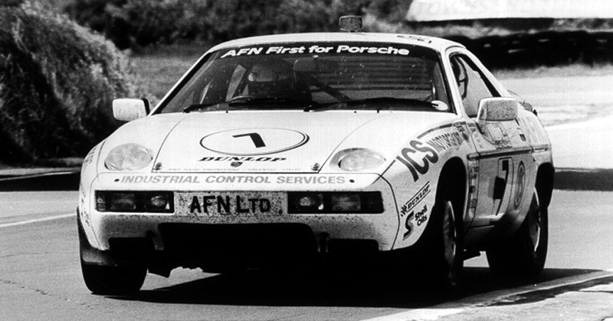 1983 Snetterton Willhire 24h race winner Porsche 928