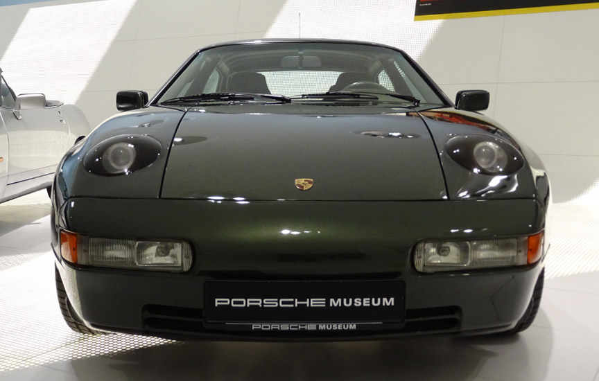 Porsche 928-4 projector headlamps