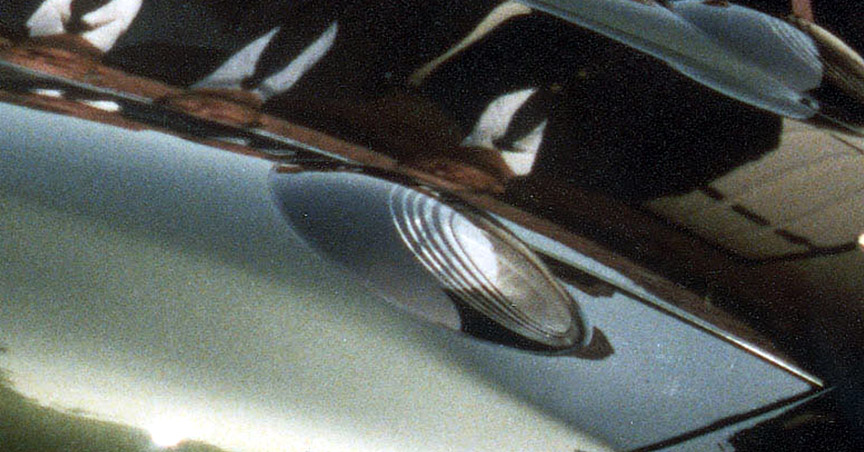 Porsche 928-4 projector headlamp