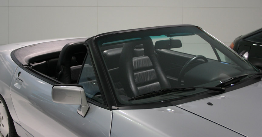 Porsche 928 Cabriolet window frame
