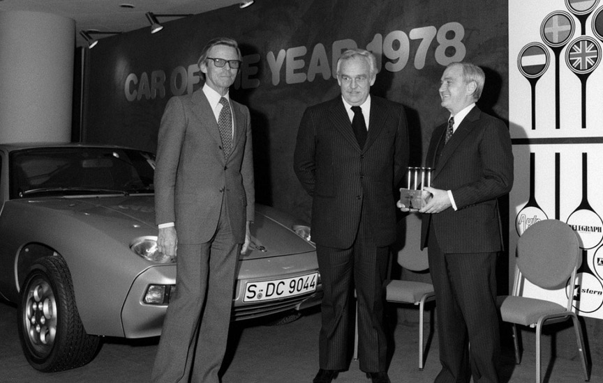 Porsche 928 - Car of the year 1978